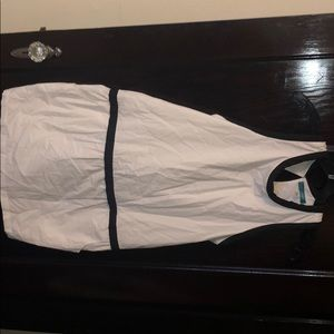 Black & White mini dress with pockets, size Small
